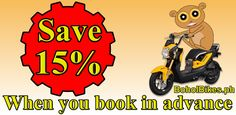 Save 15 Percnt On A Motorcycle Rental When You Book In Advance