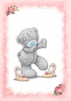 Tatty Teddy Teddy Images, Teddy Bear Pictures, Cute Images, Cute Pictures, Tatty Teddy, Kids Cartoon Characters, Blue Nose Friends, Bear Graphic, Baby Posters
