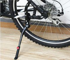 universal 24'-29'' Adjustable Aluminum MTB Bike road Bicycle Stand Bicicleta Side Stick Stand Kickstand for giant bike kickstand