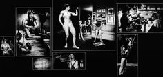 Photographer/Creator  Brad Graverson  Collection  1980  Publisher  News-Chronicle  Caption/Description  JoAnne Cameron mixes her duties as a housewife with her training as a power weight lifter and body builder. Age 28 and the mother of two girls, she competes throughout California.
