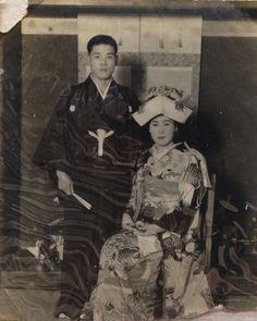 Old Japanese wedding style