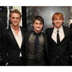 Tom Felton ❤ liked on Polyvore featuring harry potter and tom felton