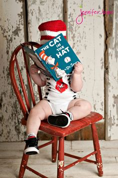 What a cute idea for a picture.... with whatever book is their favorite:). First Birthday Boys | | Jennifer Jayne PhotographyJennifer Jayne Photography