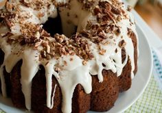 You've got to try this fantastic single-layer Hummingbird Bundt Cake recipe. It's dense, moist and slightly spiced with pineapple, banana and pecans.
