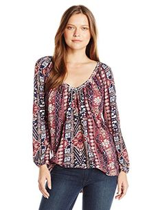 Lucky Brand Women's Plus Size Tribal Printed Top, Persian... https://www.amazon.com/dp/B01J6GOUEK/ref=cm_sw_r_pi_dp_x_JGd6xbZE4MZMG