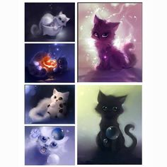 NEW DIY Diamond Painting Animal Lovely Cat Cross Stitch Multi Faceted Diamond Embroidery Picture Mosaic Home Decoration GA013-in Diamond Painting Cross Stitch from Home & Garden on Aliexpress.com | Alibaba Group