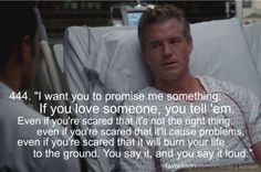 One of my favorite moments. Grey's just isn't the same without McSteamy