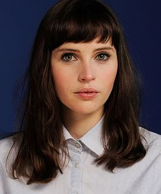 felicity jones - cute haircut