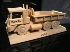 Wooden Gifts, Wooden Toys, Kids Toys, Trucks, Children, Wooden Toy Plans, Childhood Toys, Young Children, Wood Gifts