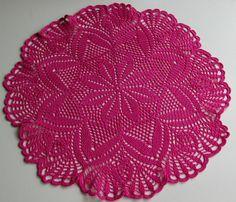 Napperon centre de table 36 cm rose décoration intérieure