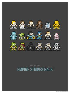 Print Set: Star Wars by Sound of Design | Society6