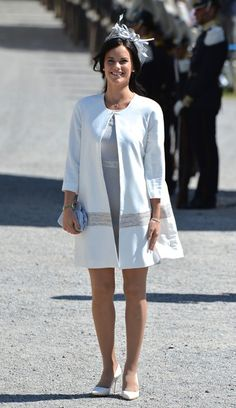 Sofia Hellqvist attends the Christening of Princess Leonore of Sweden at the Royal Chapel, at Drottningholm Palace on June 8, 2014 in Stockholm, Sweden.