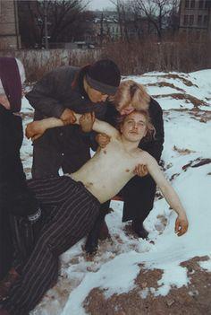 "Boris Mikhailov. Untitled, from the series Case History. 1997–98. Chromogenic color print. 58 7/16 x 39 3/16"" (148.5 x 99.5 cm..."