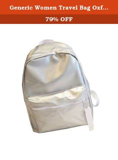 """Generic Women Travel Bag Oxford Students Schoolbag Backpack 4 OS. The product is good quality and the new style is very fashion. And the material is comfortable, wear beautiful. Product Parameters Adjustable sternum strap Fabric: Oxford Item Weight: 0.48kg Product Dimensions:15.75""""(40cm) x11.81""""(30cm) x5.12""""(13cm)."""