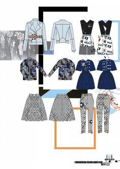 Fashion Sketchbook - fashion design flats; fashion drawings; fashion portfolio // Lois Alexandra Sleightholme