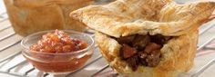 Curtis Stone's Australian Meat Pie with cubed steak... must try!