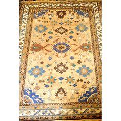 0165. Russian Caucasian Rug. Size 2m x 1m