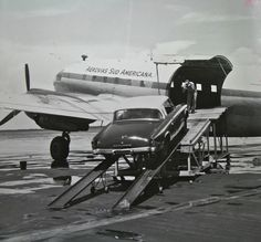A 1953 Studebaker prepares to take to the skies.