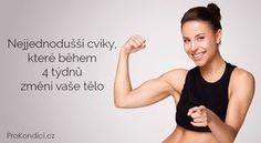 Nejjednodušší cviky, které během 4 týdnů změní vaše tělo | ProKondici.cz Yoga Fitness, Health Fitness, Yoga Anatomy, Victoria Secret, Organic Beauty, Body Care, Pilates, Life Is Good, Bodybuilding