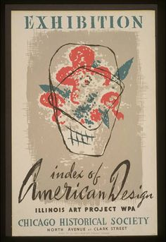 Exhibition Index of American Design. Artist: Erel Osborn - Chicago, Illinois - WPA Federal Art Project - 1941