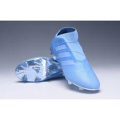 brand new bad58 2e6a1 Modelos Botas De Futbol Adidas Nemeziz 18+ Spectral Mode FG Violeta Azul