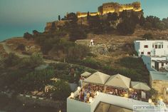 Melenos Lindos under the shade of acropolis.Picture taken by Antonis Giannelis