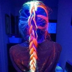 Bunte Haare Rainbow hair hair Family Vegetation And Pests Family crops Pelo Multicolor, Cool Hair Color, Hair Colors, Crazy Hair, Rainbow Hair, Rainbow Light, Grunge Hair, Dark Hair, Light Hair