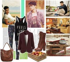 """""""Summer to Fall with Zayn"""" by zmpchirico on Polyvore"""