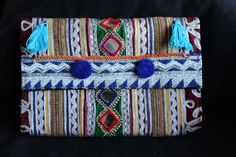 bolso etnico boho tribal bag banjara rabari clutch indian kuchi leather monedas bordado