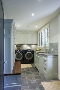 Oh hello, my dream laundry room