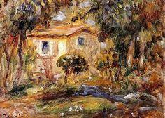 Τοπίο Pierre Auguste Renoir
