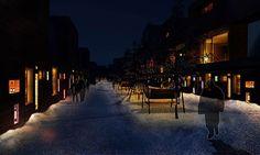 Lights over Kruunuvuorenranta. Copyright / Speirs + Major