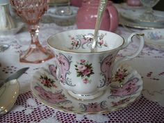 """Royal Albert, Love Story Series: """"Valerie"""" Cup & Saucer 