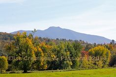 View Of Mount Mansfield from Cambridge | Flickr - Photo Sharing!