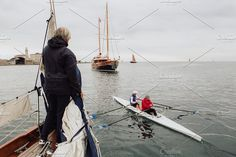 Sail Classic - Gilla 1951 - Trieste by Spaziofotografico on @creativemarket