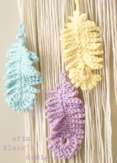 DIY Crochet PATTERN Dream A Little Dream by ErinBlacksDesigns