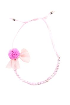 cotton on | lily pom pom necklace
