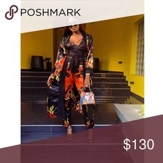 Shop Women's size M,L,XL Other at a discounted price at Poshmark. Description: Two piece set. Two Piece Sets, Kimono Top, Best Deals, Womens Fashion, Closet, Things To Sell, Tops, Style, Swag