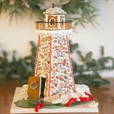 Create a gingerbread house with a nautical twist. Here's the recipe and directions from our friends in coastal Maine.