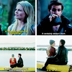 "CaptainSwan Parallel 3 * 2 ""Lost Girl"" Vs 4 * 20 ""Mother"""