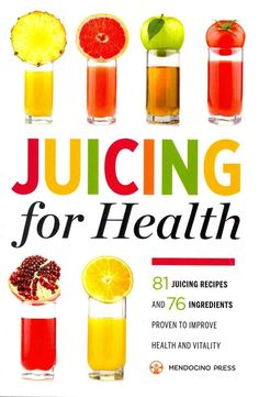 Achieve your best health with the amazing benefits of a juicing diet. Learn how to add fresh, vitamin-packed juices to your daily routine with Juicing for Health. Juicing is one of the healthiest ways