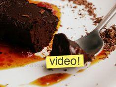 Uno de los postres veganos más fáciles del mundo: terrina de chocolate que se hace en 10 minutos y tiene un aspecto gourmet y la frescura del jengibre.