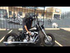 2012 Harley-Davidson Softail Slim, Bobber Style! - YouTube