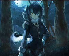 207 Best Grey wolf images in 2019 | Kemono friends, Anime