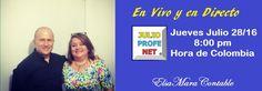 Por primera vez... invitado a mi Evento en Directo el profesor Julio Alberto Rios, más conocido como julioprofenet mentor del proyecto Elsa_Mara_Contable. Trae tus preguntas... https://www.youtube.com/watch?v=-kaCFdjOKWo