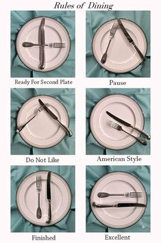 The Ace of Entertaining :: The Art of Dining eindecken ? Dinning Etiquette, Table Setting Etiquette, Brunch Table Setting, Table Settings, Place Settings, Comment Dresser Une Table, Etiquette And Manners, Useful Life Hacks, Food Hacks