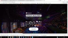 STHLM TECH FEST 2107 - http://it-kanalen.se/event/sthlm-tech-fest-2107/