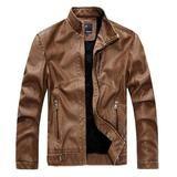 The Burnout II Jacket Toast – Leather & Cotton