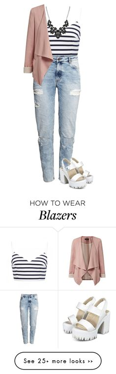 """Senza titolo #799"" by blackflowerblossom on Polyvore featuring moda, Forever New y H&M"