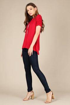 316eb636acc 25 Best Simlu Ruffle Tunics images | Tunic tops for leggings, Ruffle ...